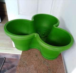 Elho Triple Plant Pot