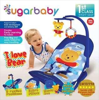 Sugarbaby Infant Seat Baby Bouncer - Biru