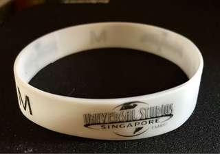 Universal Studios Singapore Visitor Band - White - For blessings