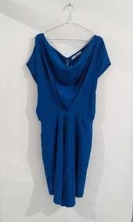 Prada look a like blue dress