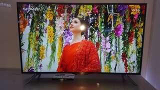 sharp TV 50ua6500 UHD smart