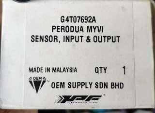 Myvi Sensor Input Output Original