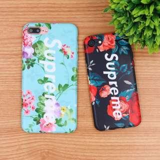 Supreme floral iphone 6/6s case