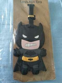 Batman comic Lugguage tag