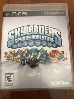 PS3 Game games skylanders spyro's adventure