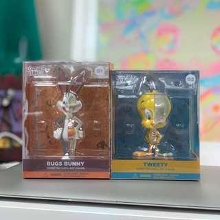 Jason Freeny Tweety & Bugs Bunny Mini Figure Set of 2