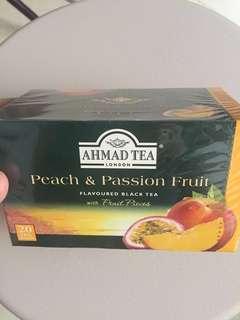 Ahmad Tea 水果茶包蜜桃熱情果Peach passion fruit flavoured black tea