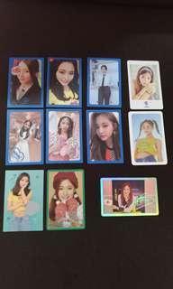 Wts twice tzuyu photo cards