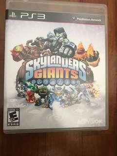 PS3 Games game sky landers giants