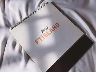 FT Island 2010 Official Fanclub Calendar