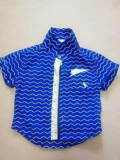 T Shirt Baby Boy Blue