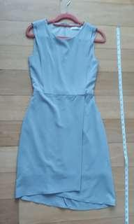 Thread Theory OL light grey dress