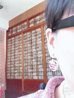 🚚 360度貼鑽大愛心💗耳環~單隻
