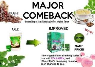 Sekushi 10 in 1 Slimming coffee w/ Collagen
