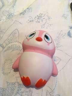 Pink Penguin Squishy