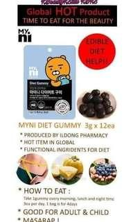 Korea Myni Diet Gummy
