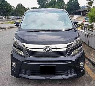 TOYOTA VELLFIRE CHEAPEST IN TOWN