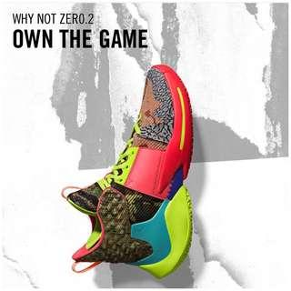 🚚 Men's WHY NOT ZERO.2 OWN THE GAME (2019)