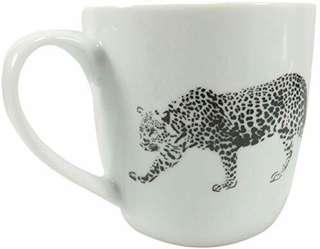 Leopard Porcelain Mug #MFEB20
