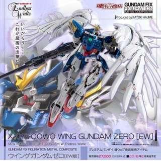 [YH]全新 日版啡盒 Gundam Fix Figuration Metal Composite Wing Gundam Zero EW 飛翼高達 GFFMC
