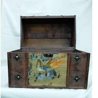 古董 首飾箱