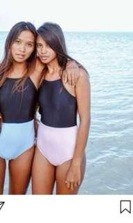 WearSundae Surf Pink/Black Swimsuit