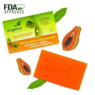 🇯🇵 Japan Organic Skin Whitening Papaya Soap 🇯🇵