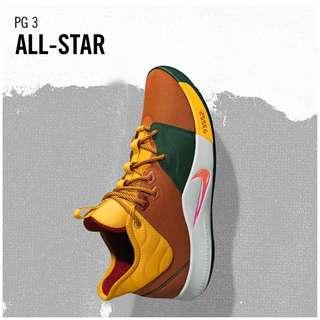 🚚 Men's Nike PG-3 ALL STAR 2019 OWNERS HQ