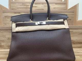 8880a2666ac Hermes Birkin 35 - Chocolate