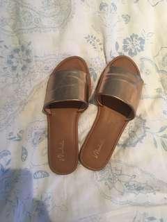 Champagne Sandals
