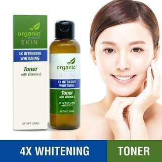 🇯🇵 Japan Organic Skin 4X Intensive Whitening with Vitamin C Toner 🇯🇵