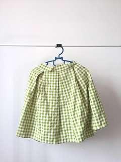 Brand New Green Checkered Skirt #MFEB20