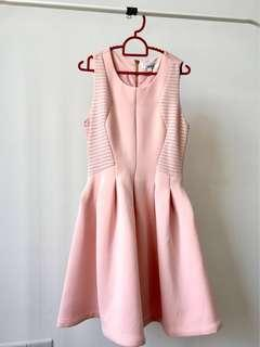 Twenty3 Pink Neoprene Dress
