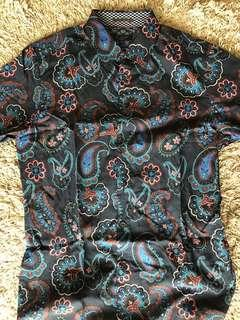 Ted baker paisley shirt size 3
