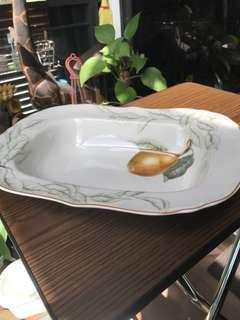 Plate Bowl Pear Spaghetti