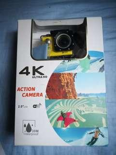🚚 4K Ultra HD Action Camera(Wifi-Enabled)