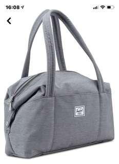 全新有吊牌有原裝袋 Herschel 袋 Grey Handbag