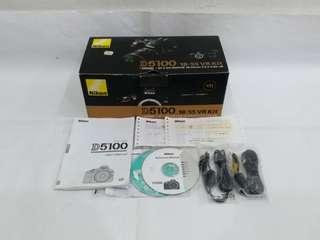 NIKON D5100 Box and accessories only