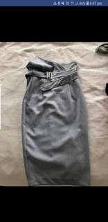 Sheike high waisted skirt