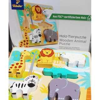 Wooden Static Animal puzzle   Buy 5  above for Wholesale price!
