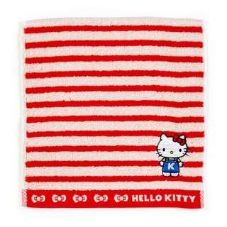 Japan Sanrio Hello Kitty Petit Towel (Border)