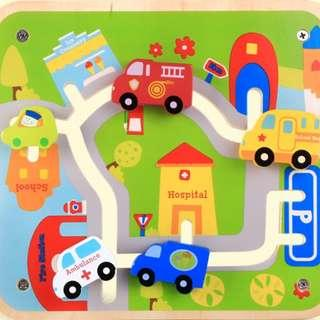 Urban City Wooden Puzzle  Buy 5 and above for Wholesale price!