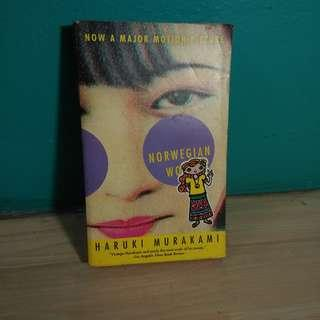 Buku Haruki Murakami - Norwegian Wood Bekas Second Used