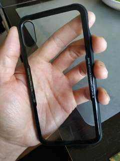 IPhone X 琉璃光面保護背殼