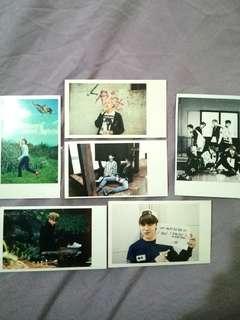 BTS lomo/unofficial polaroids
