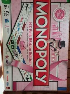 Monopoly - NZ Pink Ribbon Edition
