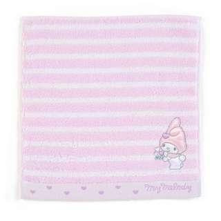 Japan Sanrio My Melody Petit Towel (Border)