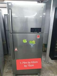 🚚 Used LG 430 litres cheap good good fridge with free delivery