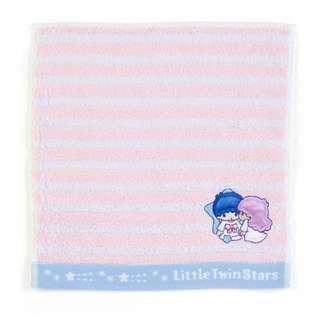 Japan Sanrio Little Twin Stars Petit Towel (Border)