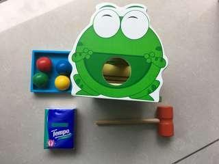 青蛙搥仔玩具